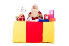 Sinterklaas运作 免版税库存照片