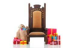 Sinterklaas aspettante Fotografia Stock