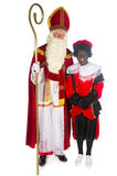 Sinterklaas and Black Piet Royalty Free Stock Photo