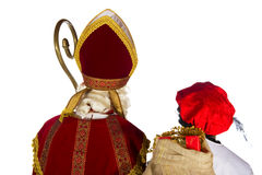 Sinterklaas and Black Piet Stock Photos