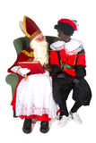 Sinterklaas and Black Piet Stock Photography