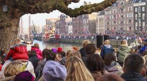 Sinterklaas boat Stock Photo