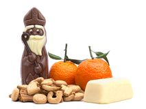 Sinterklaas Candy Isolated royalty free stock photography