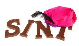 Sinterklaas chocolate letters Stock Photography