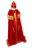 Sinterklaas Costume on white background Royalty Free Stock Photos