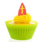 Sinterklaas cupcake Stock Photos