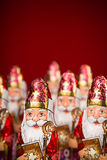 Sinterklaas . Dutch chocolate figure Stock Photos