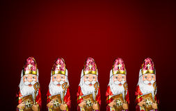 Sinterklaas . Dutch chocolate figure Royalty Free Stock Images