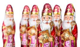 Sinterklaas . Dutch chocolate figure Royalty Free Stock Images