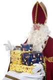 Sinterklaas e presentes foto de stock