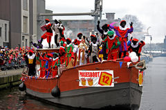 Sinterklaas entry in Holland Stock Photo