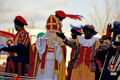 Sinterklaas entry in Holland Stock Photography