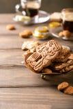 Sinterklaas för holländsk ferie festlig frukost Arkivbild