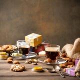 Sinterklaas för holländsk ferie festlig frukost Royaltyfri Bild