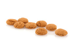 Sinterklaas ginger nuts Royalty Free Stock Photo
