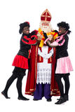 Sinterklaas having a cold Stock Photography