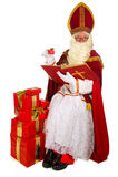 Sinterklaas holandês Fotos de Stock Royalty Free