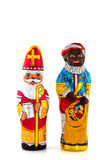 Sinterklaas holandês e Piet preto Foto de Stock Royalty Free