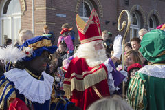 Sinterklaas i Winterswijk Arkivfoton