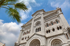 Sinterklaas-kathedraal in Monaco. Stock Fotografie