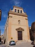 Sinterklaas-kerk, Mazara del Vallo, Sicilië, Italië Stock Afbeelding