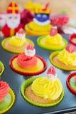 Sinterklaas-kleine Kuchen Lizenzfreies Stockfoto