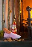 Sinterklaas shoe Stock Photography
