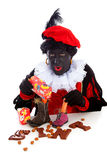 Sinterklaas, typical Dutch event with zwarte piet Stock Images