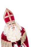 Sinterklaas vintage look on white background Royalty Free Stock Photos