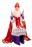 Sinterklaas on white background Stock Photos
