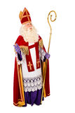 Sinterklaas on white background. full length Stock Photo