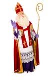 Sinterklaas on white background. full length Stock Image