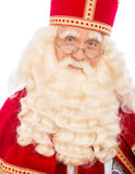 Sinterklaas on white background Stock Images