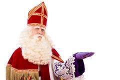 Sinterklaas on white background Royalty Free Stock Photo