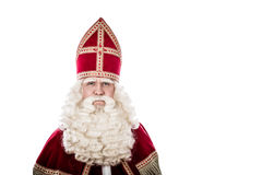 Sinterklaas on white background Stock Photography