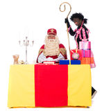 Sinterklaas is working Royalty Free Stock Photography