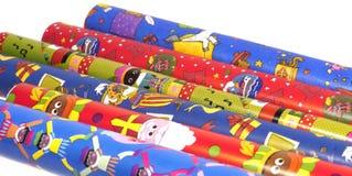 Sinterklaas wrapping paper Royalty Free Stock Image
