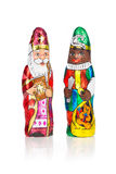 Sinterklaas Zwarte Piet Holenderska czekoladowa postać Zdjęcie Royalty Free