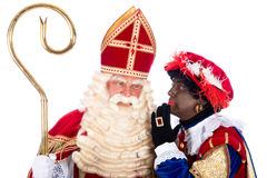 Sinterklaas with Zwarte Piet Royalty Free Stock Photo