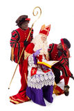 Sinterklaas and Zwarte Pieten Stock Photo