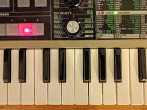 sintetizador Imágenes de archivo libres de regalías