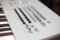 sintetizador Fotografía de archivo libre de regalías