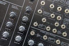 Sintetizador da música Imagem de Stock Royalty Free
