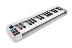 Sintetizador do piano de Digitas rendição 3d Imagens de Stock Royalty Free