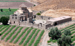 sinti panagia Кипра христианской церков Стоковое Изображение
