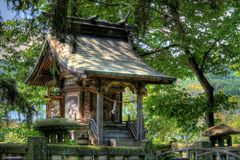 sintoizm Japan świątynia Zdjęcie Stock