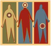 Sintomas ilustração do vetor