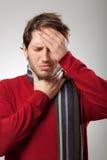 Sintomas da gripe Imagem de Stock