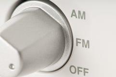 Sintonizador de radio Fotos de archivo
