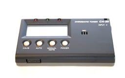 Sintonizzatore della chitarra Immagini Stock